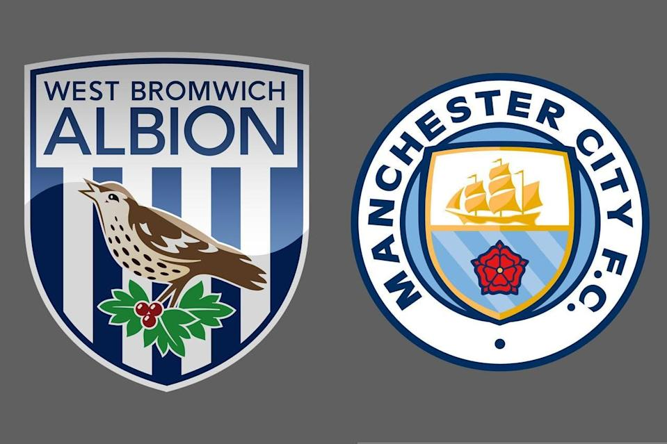 West Bromwich Albion-Manchester City
