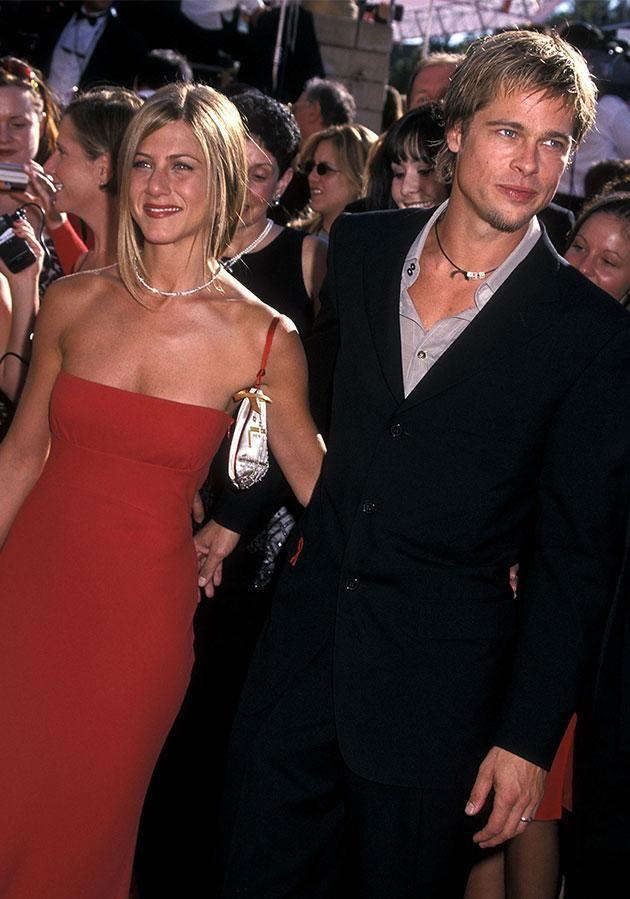 Brad Pitt left Jennifer Aniston in 2005 for Angelina Jolie. Photo: Getty Images