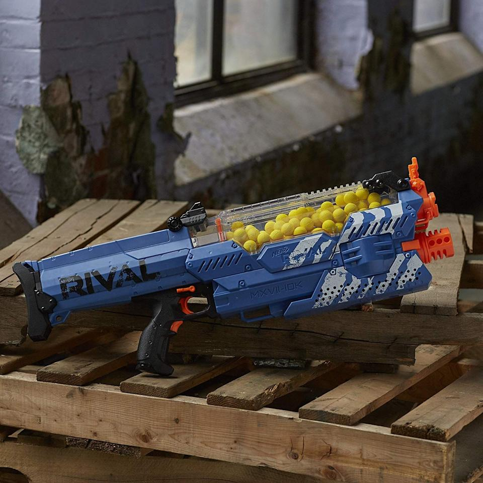"""<p>Everyone loves Nerf guns. Okay, <em>most</em> people love Nerf guns, and if you happen to be an enthusiast of foam-based weaponry, then you're in luck because Amazon has an amazing sale going on right now—just in time for these endlessly hot summer days. </p><p>Right now you can <a href=""""https://www.amazon.com/deal/494a774f/ref=gbps_tit_s-5_b5d1_494a774f?smid=ATVPDKIKX0DER&pf_rd_p=473a0caf-eecb-4c73-92a7-1e27f89fb5d1&pf_rd_s=slot-5&pf_rd_t=701&pf_rd_i=gb_main&pf_rd_m=ATVPDKIKX0DER&pf_rd_r=VSYDK32WX04E8GVF1N90"""" target=""""_blank"""">get tons of Nerf gear</a> at seriously discounted prices, and these are our absolute favorites in case you weren't sure where to start!</p>"""