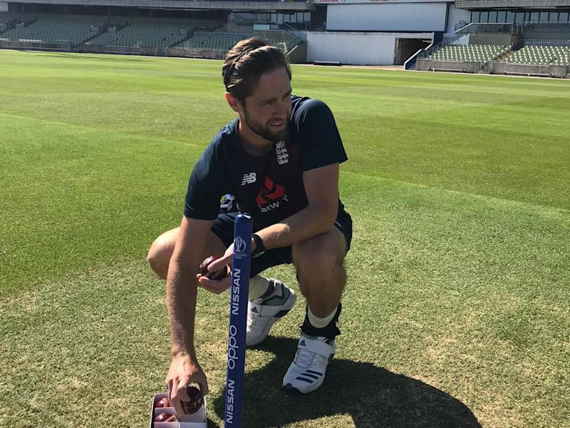 England bowler Chris Woakes: England and Wales Cricket Board