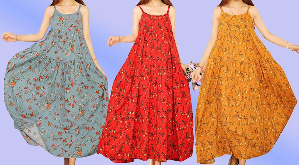 The ideal summer dress can be yours for just $28. (Photo: Amazon)