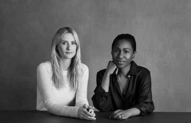 <p><strong>Brand:</strong> Tove</p><p>Co-creators of Tove, Perry (R) and Holly Wright (L), met while working at Topshop, but the pair decided to launch their own contemporary label of breezy, romantic, yet fashion-forward pieces. </p>