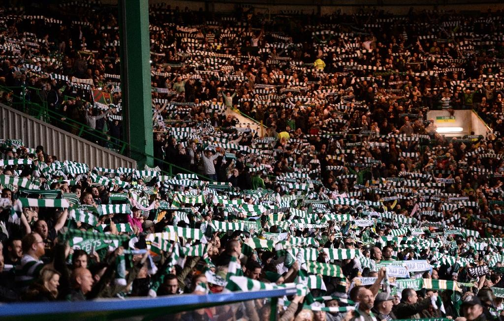 Celtic fans will not be able to purchase tickets for the match against Linfield should they progress to the second qualifying round (AFP Photo/OLI SCARFF                          )