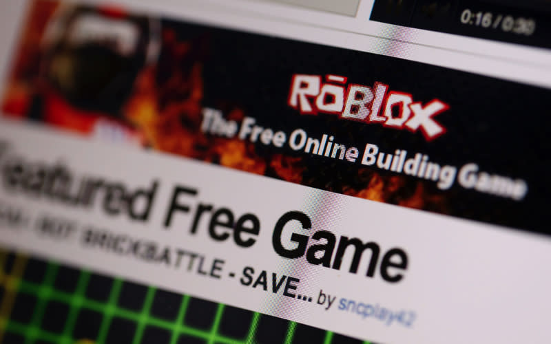<p>In at number one, as this year's most searched-for game is Roblox. The multiplayer digital platform allows users to design their own games which other Roblox fanatics can also compete in. <em>[Photo: Getty]</em> </p>