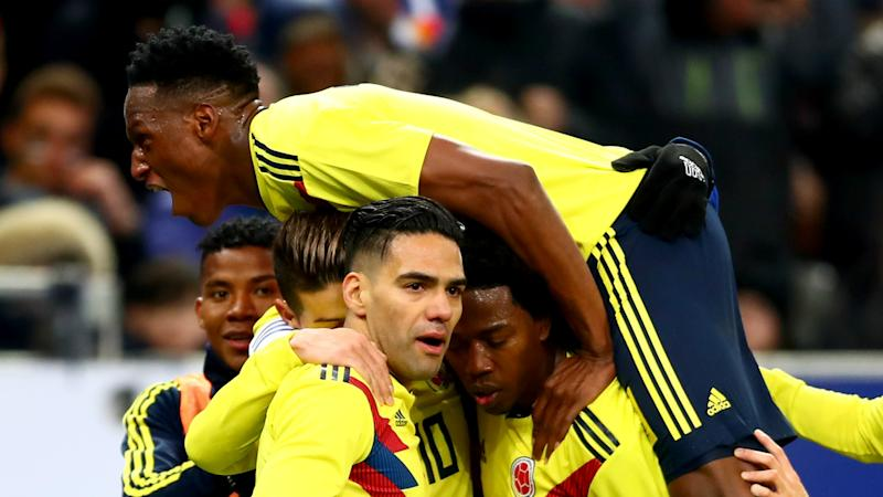 Colombia collapse a slap for France, says Giroud