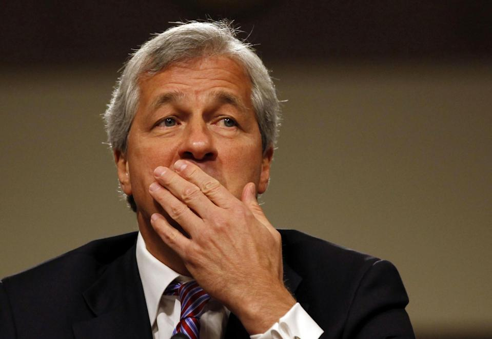 JP Morgan Chase and Company CEO Jamie Dimon has been a high-profile critic and naysayer of cryptocurrencies, in particular, bitcoin. | Source: REUTERS/Larry Downing