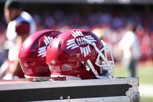 New Mexico State is 4-5 in 2017. (Getty)