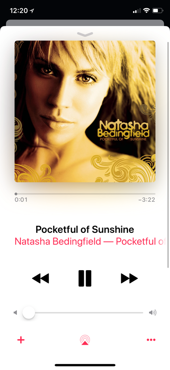 "<p>""In the darkness, there's light,"" croons Natasha Bedingfield. Released in 2008, this tune about seeing the glass half full is the perfect escape. <br></p><p><a class=""link rapid-noclick-resp"" href=""https://go.redirectingat.com?id=74968X1596630&url=https%3A%2F%2Fitunes.apple.com%2Fus%2Falbum%2Fpocketful-of-sunshine%2F1429193525&sref=https%3A%2F%2Fwww.oprahmag.com%2Fentertainment%2Fg23118484%2Fbest-happy-songs%2F"" rel=""nofollow noopener"" target=""_blank"" data-ylk=""slk:Listen Now"">Listen Now</a></p>"