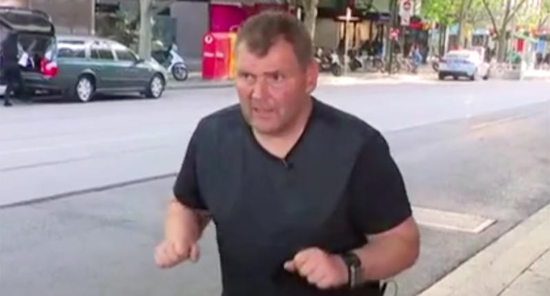 Australian homeless man who helped end Melbourne attack charged with theft