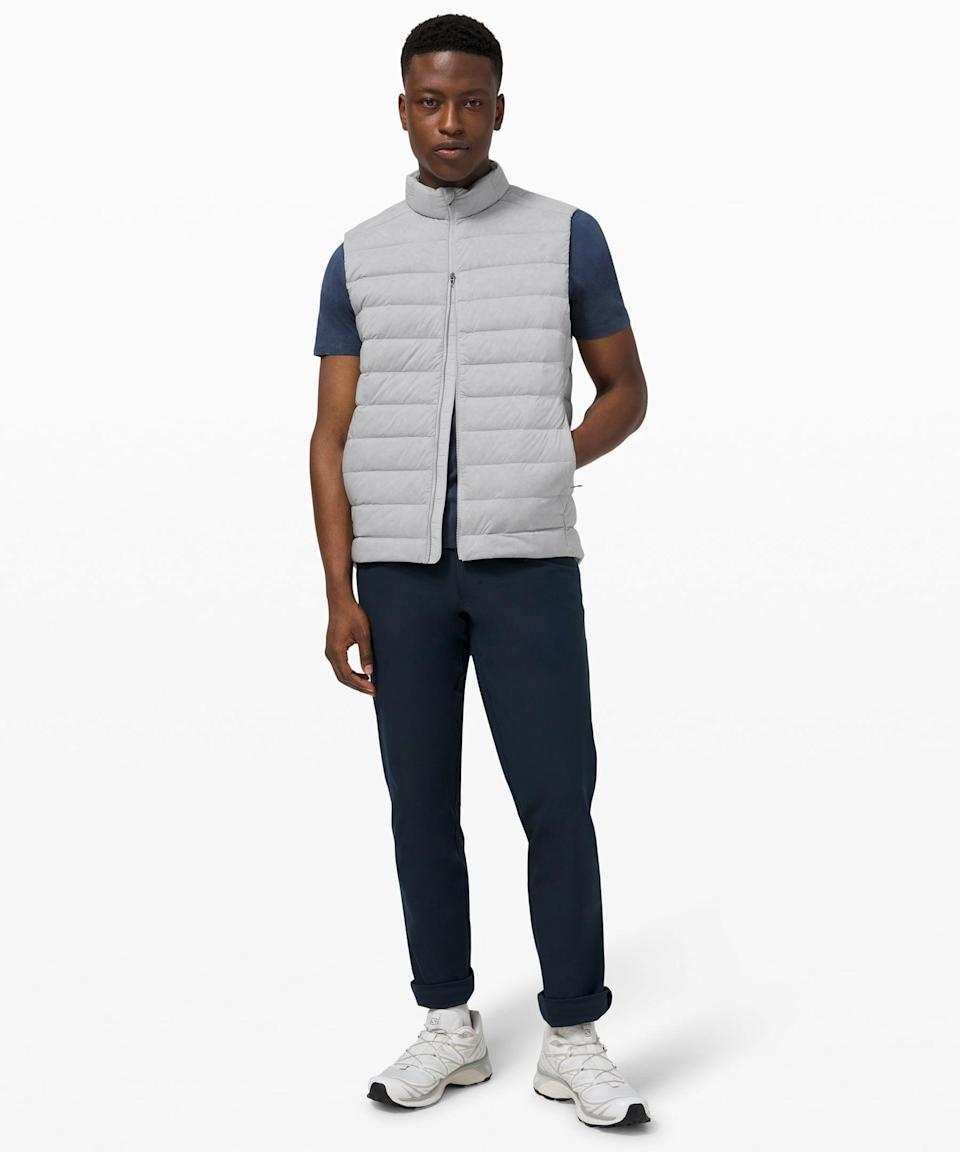 <p>This <span>Lululemon Navigation Stretch Down Vest</span> ($168) is so useful, and such a good gift.</p>