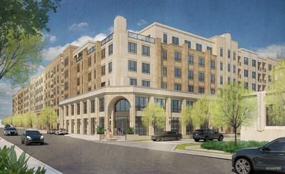 RENDERING: Embrey Multifamily Community at Historic Borden Property