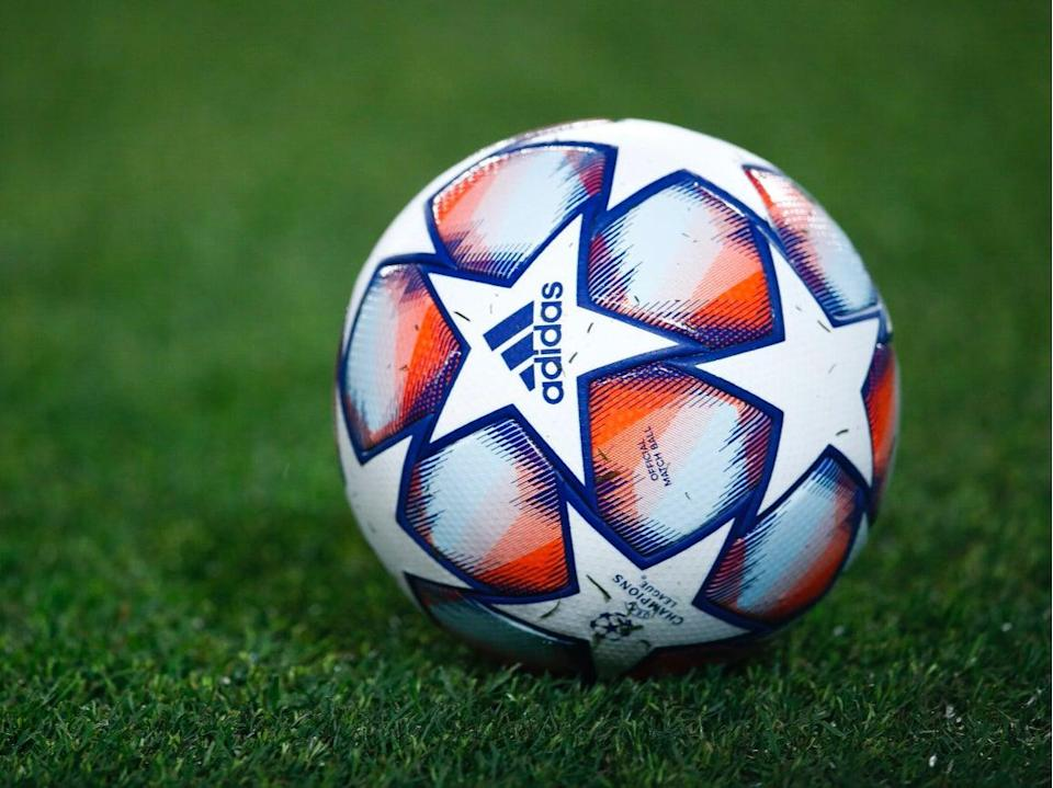 The 2020/21 Champions League ball (Getty Images)