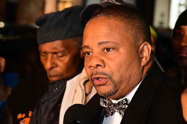 Jesse Hamilton, a member of the New York State Senate, allegedly had the police called on him by a woman who said he should not be opposing President Trump. (Photo: Andy Katz/Pacific Press/LightRocket via Getty Images)