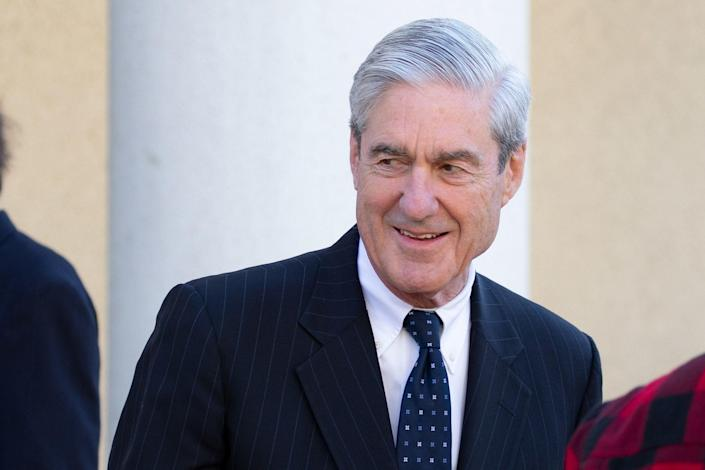 Special counsel Robert Mueller after attending church on March 24, 2019, in Washington, D.C. (Photo: Tasos Katopodis/Getty Images)