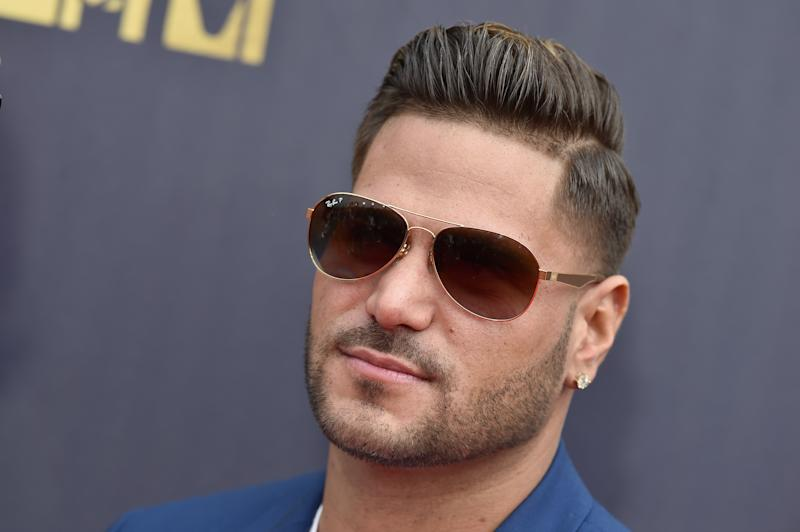 SANTA MONICA, CA - JUNE 16: TV personality Ronnie Ortiz-Magro attends the 2018 MTV Movie And TV Awards at Barker Hangar on June 16, 2018 in Santa Monica, California. (Photo by Axelle/Bauer-Griffin/FilmMagic)