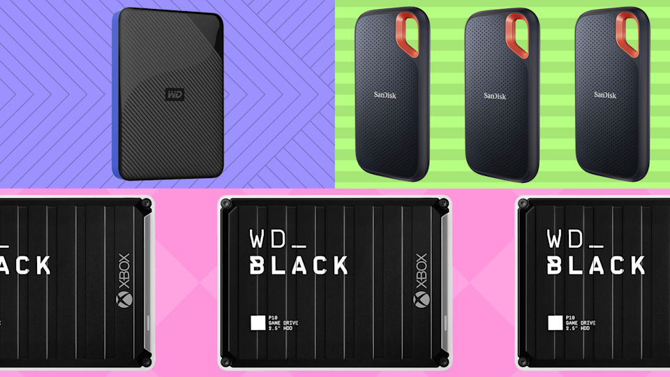 Today only: Save up to a 48 percent on SanDisk, Samsung and Western Digital. (Photo: Amazon)