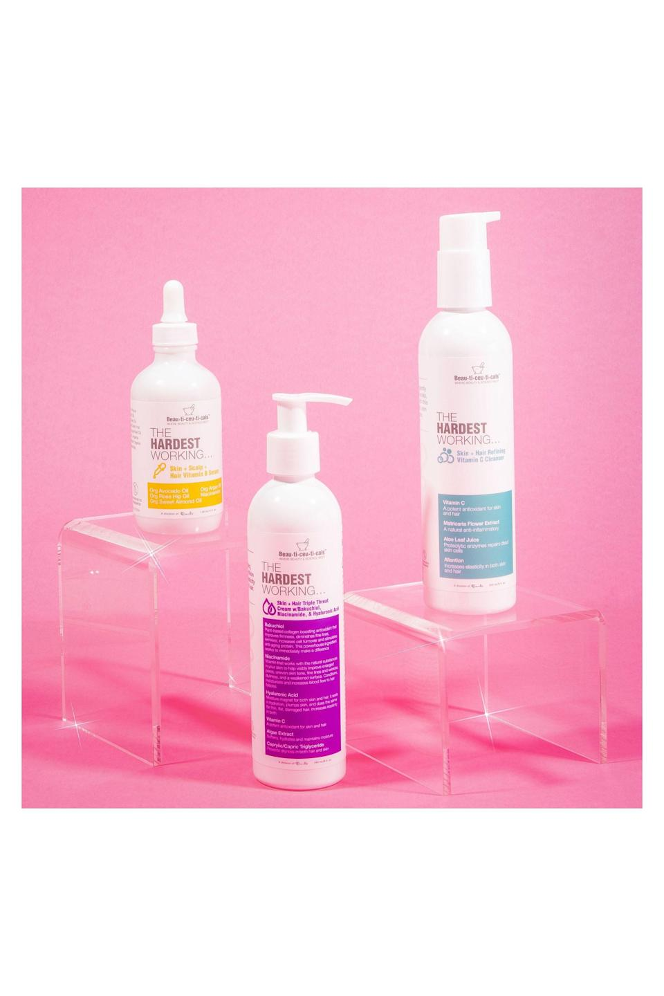 """<p><strong>Curlbox</strong></p><p>curlbox.com</p><p><strong>$50.00</strong></p><p><a href=""""https://curlbox.com/products/curlbox-diamond-beau-ti-ceu-ti-cals"""" rel=""""nofollow noopener"""" target=""""_blank"""" data-ylk=""""slk:Shop Now"""" class=""""link rapid-noclick-resp"""">Shop Now</a></p><p>Most <a href=""""https://www.elle.com/beauty/hair/g26066152/best-curl-creams/"""" rel=""""nofollow noopener"""" target=""""_blank"""" data-ylk=""""slk:curly-haired"""" class=""""link rapid-noclick-resp"""">curly-haired</a> girls are product junkies by nature; natural hair requires care in the form of time, attention and lots of products. The Curl Box is the most popular natural hair box subscription that allows you to try out new hair products every wash day. Each month's box is filled with hair care products from well-known brands and a few goodies from newer or lesser-known brands to keep your curls popping.</p>"""
