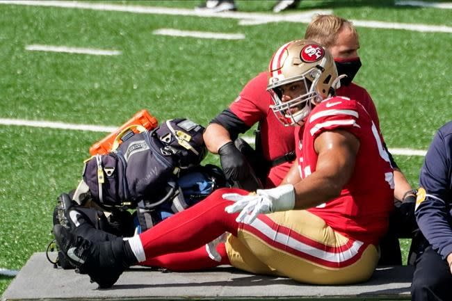 Injuries could derail season for defending NFC champ 49ers
