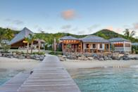 "<p>To enjoy the British Virgin Islands in guaranteed privacy, choose <a href=""https://skylark.com/hotels/0025687?utm_medium=partner&utm_source=cnt&utm_content=rosewoodlittledixbay"" rel=""nofollow noopener"" target=""_blank"" data-ylk=""slk:Rosewood Little Dix Bay"" class=""link rapid-noclick-resp"">Rosewood Little Dix Bay</a>'s 500 acres of beachfront property and sprawl out on the resort's beach on Virgin Gorda. The property is as secluded as it is all-inclusive and was recently renovated with unplugged relaxation in mind; most of its 81 guest rooms lack televisions, every lodging option has an ocean view, and the four on-site dining facilities are open-air. The on-site spa, two pools, food and beverage service to your beach char, and water activities like kayaking and deep-sea fishing will have you ready to disconnect from the world back home from the moment you arrive.</p> <p><strong>Book now:</strong> <a href=""https://skylark.com/hotels/0025687?utm_medium=partner&utm_source=cnt&utm_content=rosewoodlittledixbay"" rel=""nofollow noopener"" target=""_blank"" data-ylk=""slk:skylark.com"" class=""link rapid-noclick-resp"">skylark.com</a></p>"