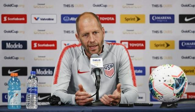 United States men's national team coach Gregg Berhalter announced a 22-player roster Saturday ahead of next weekend's friendly against Costa Rica in Los Angeles (AFP Photo/KAMIL KRZACZYNSKI)