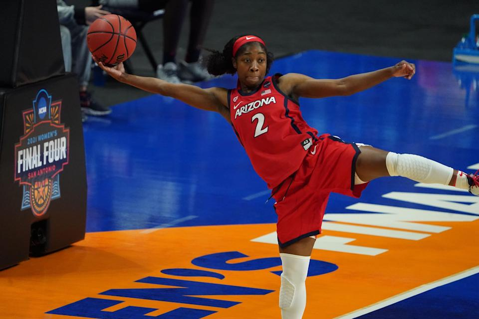 Aari McDonald led the Arizona Wildcats to their first NCAA national championship game before they fell by one point to Pac-12 rival Stanford.