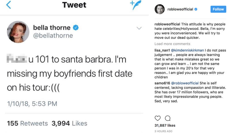 Bella Thorne's Boyfriend, Mod Sun, Defends Her After Mudslides Tweet
