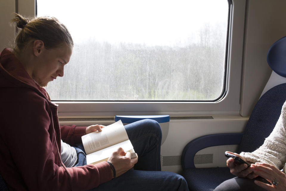 Make reading something you do in your downtime. <em>(Source: Getty)</em>