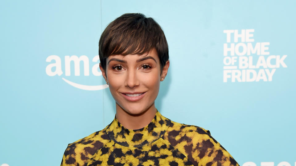 Frankie Bridge's new book sees her speak openly about her struggles with mental health since becoming a mother. (David M. Benett/Getty Images for Amazon)