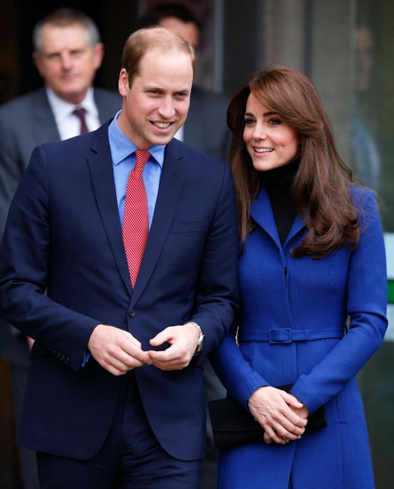 Prince William and Kate Middleton use different names when they travel. Photo: Getty Images