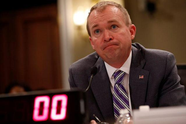 Office of Management and Budget Director Mick Mulvaney testifies before the House Budget Committee about President Trump's 2018 budget proposal. (Photo: Aaron P. Bernstein/Reuters)