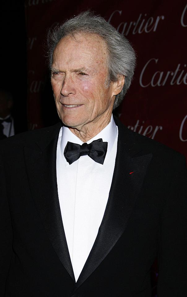 """<a href=""""http://movies.yahoo.com/movie/contributor/1800019744"""">Clint Eastwood</a> at the 20th Annual Palm Springs Film Festival Gala - 01/06/2009"""