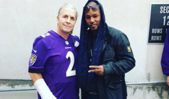 Bret 'The Hitman' Hart And Cam'Ron Are Teaming Up To Produce The 'Sharpshooter Rap'