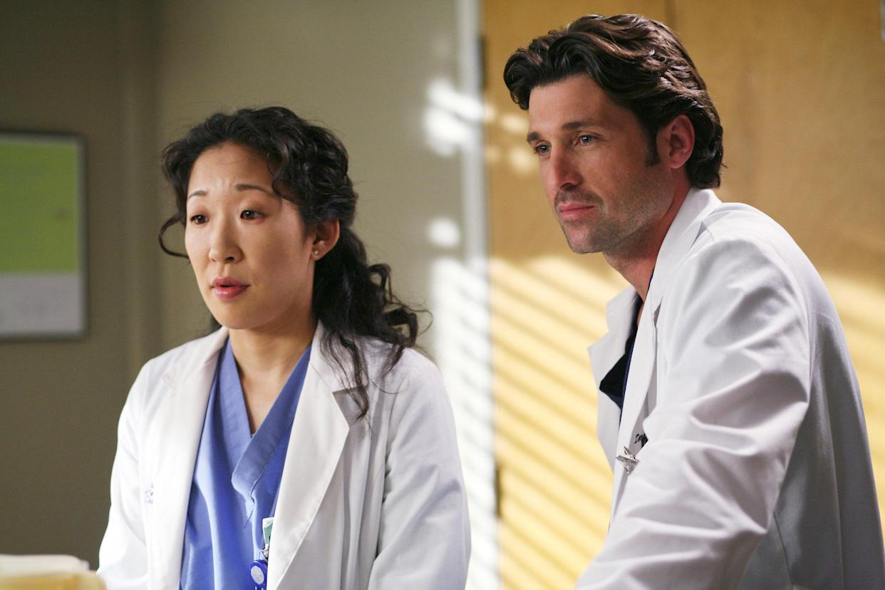 Sandra Oh and Patrick Dempsey star in a 2006 episode of