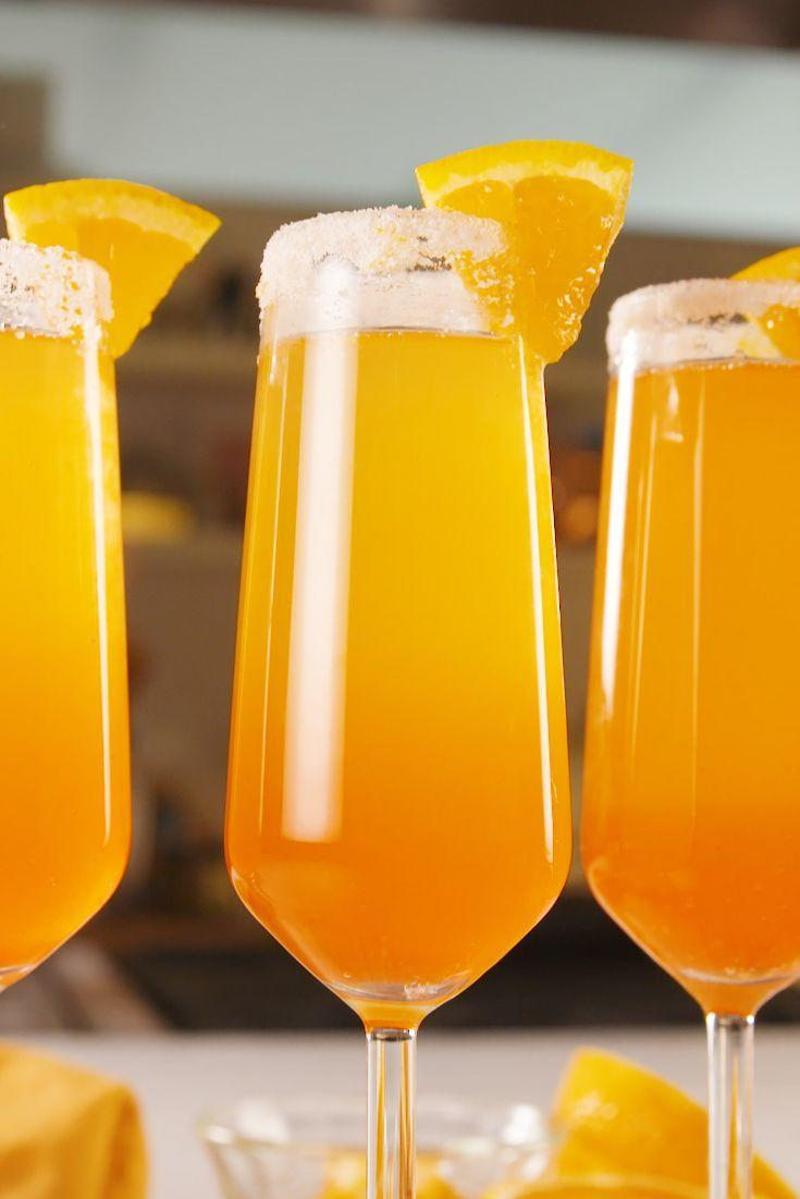 """<p>Will have you seriously crushin'. </p><p>Get the recipe from <a href=""""https://www.delish.com/cooking/a21778910/summer-crush-mimosas-recipe/"""" rel=""""nofollow noopener"""" target=""""_blank"""" data-ylk=""""slk:Delish."""" class=""""link rapid-noclick-resp"""">Delish. </a></p>"""