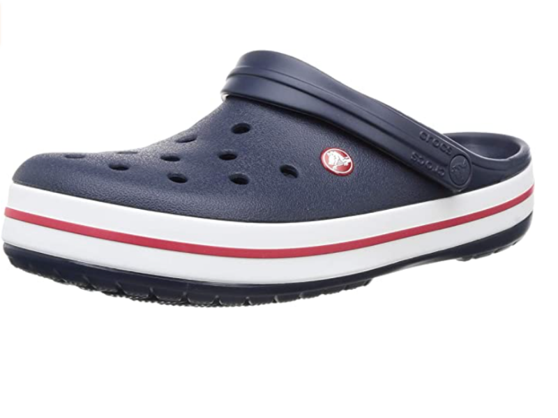 Crocs Men's and Women's Crocband Clog Comfortable Slip On Shoe Casual Water Shoe in Navy