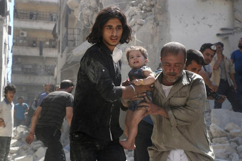 A ceasefire in Syria has been marred by new air strikes and fighting (AFP Photo/Thaer Mohammed)