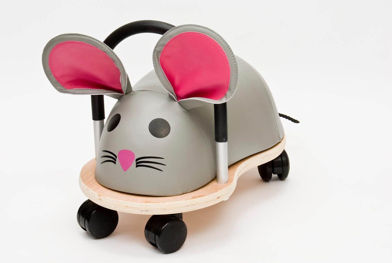 <p>Not only will your bubba love whizzing about on this sweet ride on, for every mouse Wheelybug sold between now and December 31st 2016 Hippychick.com will donate £1 to the People's Trust for Endangered Species (PTES), specifically for the preservation of dormice. Bless! </p>
