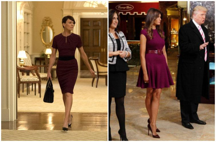 Melania Trump S Style Is Basically Claire Underwood From House Of