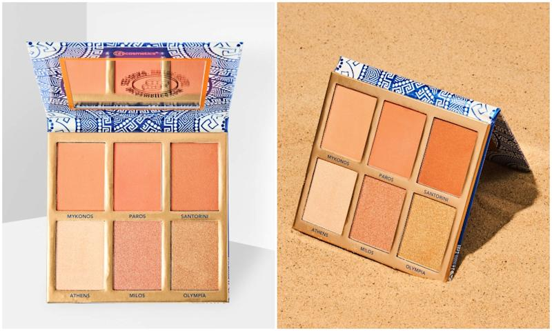BH COSMETICS GLOWING IN GREECE PALETTE
