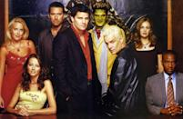 """The <em>Buffy</em> spin-off was cancelled in 2004 after its fifth season despite it doubling viewing figures. The final episode saw Wesley (Alexis Denisof) dying while Angel and his surviving team,Spike, Gunn and Illyria, face off against the demons of hell. Angel says, """"Let's go to work,"""" before swinging his sword at the camera and it cutting to the end credits. Viewers never found out how that battle ended."""