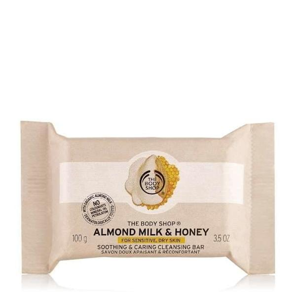 Almond Milk & Honey Cleansing Bar by The Body Shop
