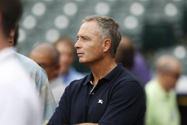 Dan O'Dowd was the general manager and executive vice president of the Rockies for 15 seasons. (AP Photo/David Zalubowski)
