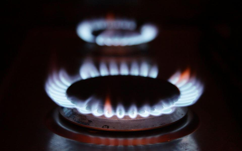 Gas rings on a cooker at a home - Credit: Yui Mok/PA Wire