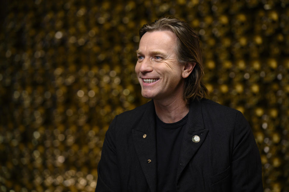 SUNDAY TODAY WITH WILLIE GEIST -- Pictured: Ewan McGregor on Feb. 9, 2020 -- (Photo by: Mike Smith/NBC/NBCU Photo Bank via Getty Images)