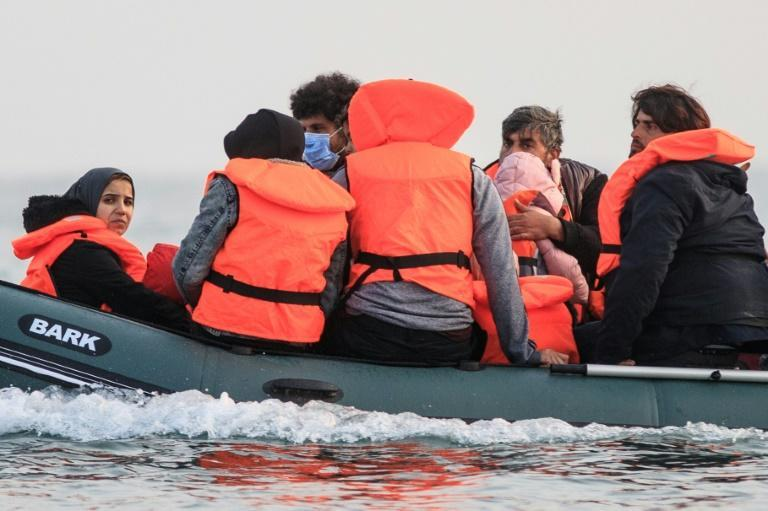 Migrants pay around 3,000 euros ($3,500) per person to board a small rubber boat with a rickety engine