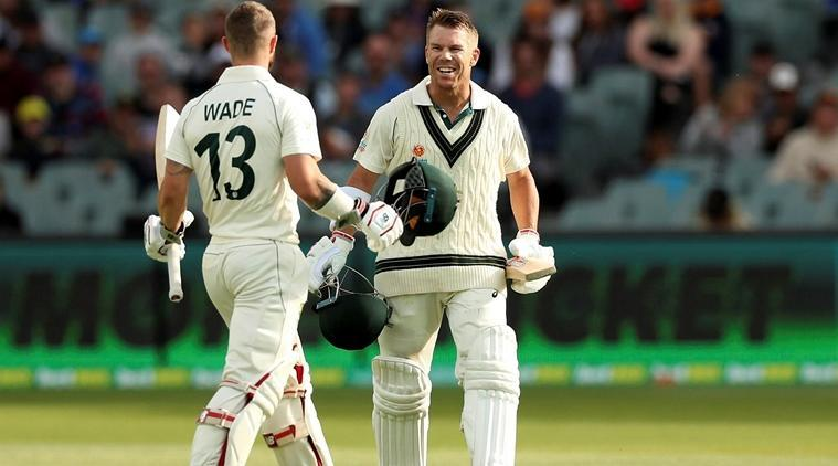David Warner scored 335* off 418 balls as Australia posted a massive total of 589/3 declared in the 2nd Test vs Pakistan in Adelaide on Sunday. (AP Photo)