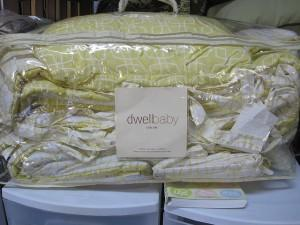 packaged baby bedding