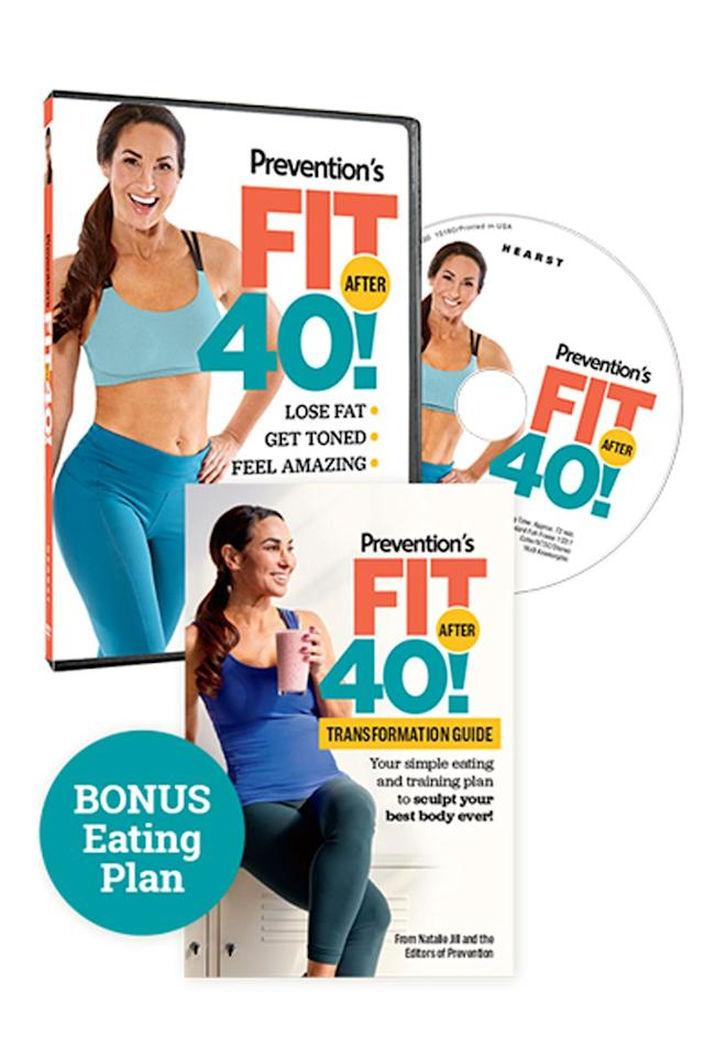 "<p>$30</p><p><a rel=""nofollow"" href=""https://order.hearstproducts.com/subscribe/hstproducts/241090"">SHOP NOW</a></p><p>Created by Natalie Jill, Fitness After 40 is an eating and training plan built to transform and sculpt your body. The package includes <a rel=""nofollow"" href=""https://www.womansday.com/health-fitness/workout-routines/a57916/fast-at-home-workouts/"">simple 15-minute workouts</a>, flexible meal templates, and an eight and 12 week training plan. Plus, there's no equipment required.<br></p>"