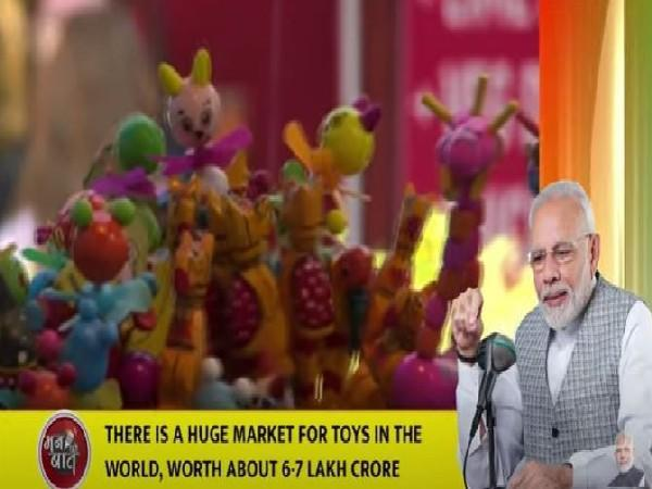 Indian youth has resolved to make an impact of Indian toys globally, says PM Modi on 'Mann Ki Baat'
