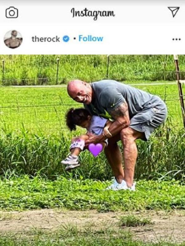 The Rock (Foto: Instagram/@therock)